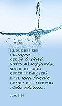 Luciano's Cuadro de Coleccion Madera - Juan 4:14 -
