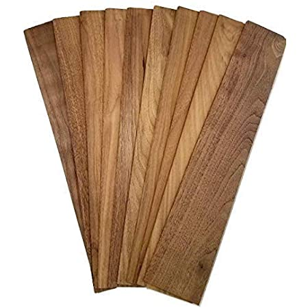2 Black Walnut Wood Lumber Boards Measuring 1//4 x 5 x 30 Each