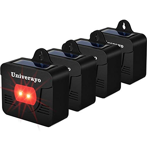 Univerayo Solar Predator Deterrent Light
