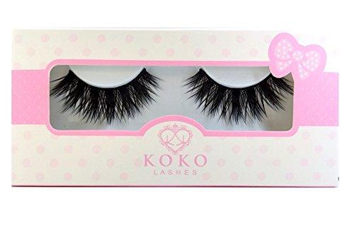KoKo Lashes STELLA Wispy Glamour Fake Eyelashes (New Original)
