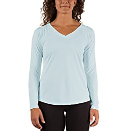 Vapor Apparel Women's V-Neck UPF 50+ Sun Protection Outdoor...