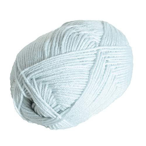 Knit Picks Brava Worsted 100% Acrylic Yarn Hypoallergenic Washable - 100 g (Clarity)