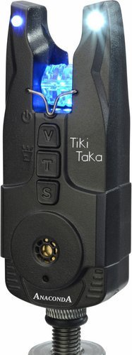 Anaconda Unisex– Erwachsene Sänger Tiki Taka 2er Funkset Bissanzeiger, Schwarz, Reichweite ca. 150m bei optimalen Bedingungen