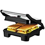 Best Panini Presses - IKICH 4 Slice Panini Press, Panini Press Grill Review