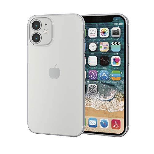 エレコム iPhone 12 mini ケース ソフト 薄型 クリア PM-A20AUCUCR