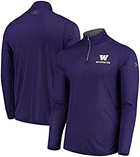 Under Armour Under Armour Washington Huskies Purple Threadborne Quarter-Zip Jacket スポーツ用品 【並行輸入品】