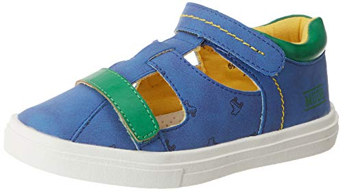 Mod8 Jungen Paulo T-Spangen Sandalen, Blau (Bleu 5), 24 EU