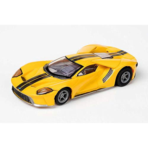 AFX/Racemasters Ford GT - Triple Yellow, AFX22029