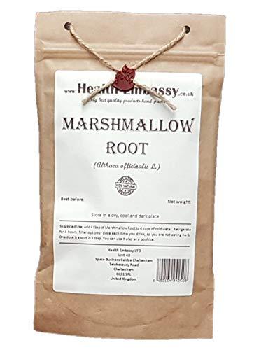 Health Embassy Echter Eibisch Wurzel (Althea Officinalis L.) / Marshmallow Root, 100g
