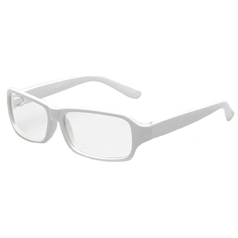 FancyG Vintage Inspired Classic Rectangle Glasses Frame Eyewear Clear Lens