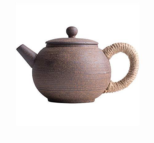 CUJUX Ceremonia de la Vendimia Gres Cerámica Tetera de imitación Piedra Juego de té Hecho a Mano Caldera de té Chino Tetera Suministros