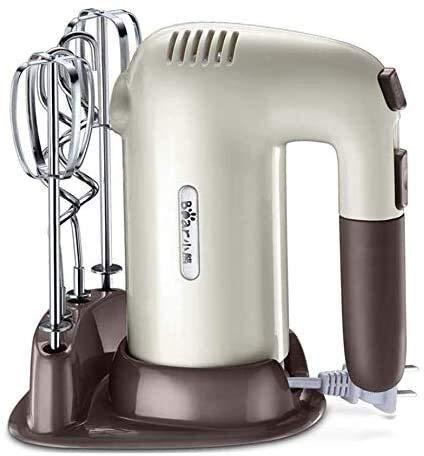 Hand Hand Mixer Hand Professional Electric Mano Mezclador de Mano 5 Velocidad 200W Batido de mano liviano for hornear EC Mini Huevo Cream Food Beater 2 batidores y 2 ganchos de masa.mezcladores viejos