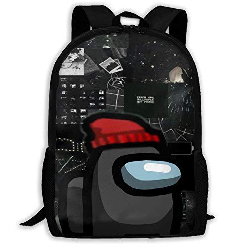 Hdadwy Am-on_g u_s - Mochila multifunción para viajes, senderismo, mochila escolar, mochila para adultos, mochila de ocio, mochila para ordenador portátil, impermeable, para jóvenes, adultos, 16 pulga