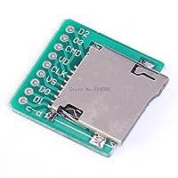 A7-メモリマイクロSDTFカードボードカードインターフェースアダプタピンボードモジュール20x20mm2mm超小型