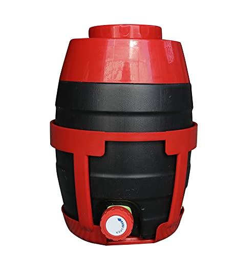 Turbo Pro Contenedor de dispensación de detalles de coche cubo de carga dividido barril separado para lavado de coches champú y líquido dispensador de cera de polaco 5L