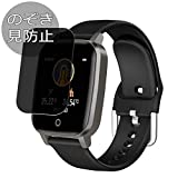 Synvy Privacy Screen Protector Film for ATHORBOT HKA SMT-T1 1.3' Smartwatch Smart Watch Anti Spy Protective Protectors [Not Tempered Glass]