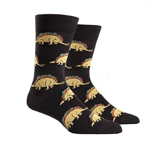 Sock It To Me, Tacosaurus, Men's Crew Socks, Taco Socks