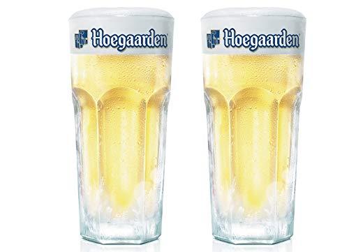 Bicchieri da birra, mezza pinta, Hoegaarden CE 250ml (set di 2)