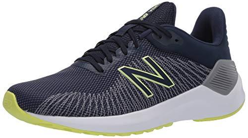 New Balance Men's Ventr V1 Running Shoe, Natural Indigo/Light Aluminum, 11.5 XW US