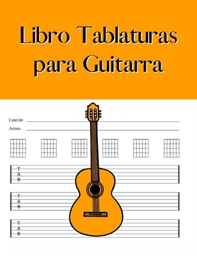 Libro Tablaturas para Guitarra