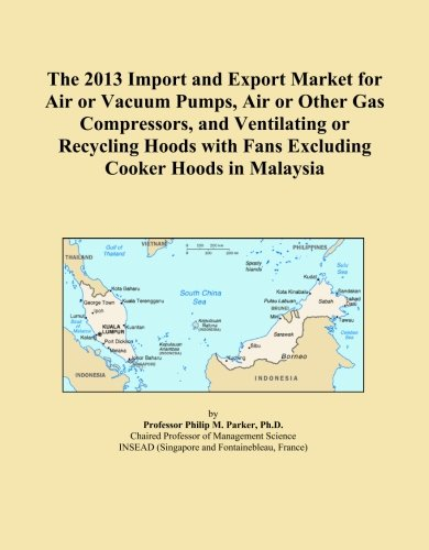 The 2013 Import and Export Market for Air or Vacuum Pumps, Air or Other Gas Compressors, and Ventilating or Recycling Hoods with Fans Excluding Cooker Hoods in Malaysia