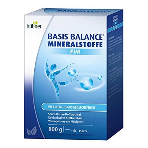 hübner - Basis Balance Mineralstoffe Pur - Pulver - 800 g -