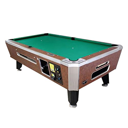 Amazing Deal Valley 88 Panther ZD-X Coin Op Pool Table - Cheyenne Leather