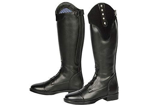 Harry's Horse Reitstiefel Vegas Junior Lederlook Reißverschluss Schutzlasche (39)