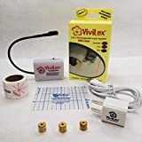ViviLux 3-in-1 Red Laser System for Sewing, Quilting, and Crafts w Hook and Loop Tape US Plug