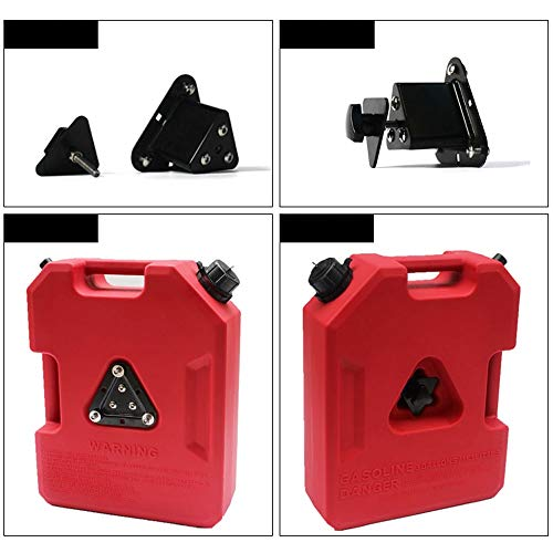 Feng Xu Draagbare brandstoftank, dikke en hoge sterkte polyethyleen 5 gallon, 8 gallon geïntegreerde multifunctionele anti-statische rotomolding auto reserve olie trommel, kan worden gebruikt als een zandplaat om 2 soorten te verwijderen o