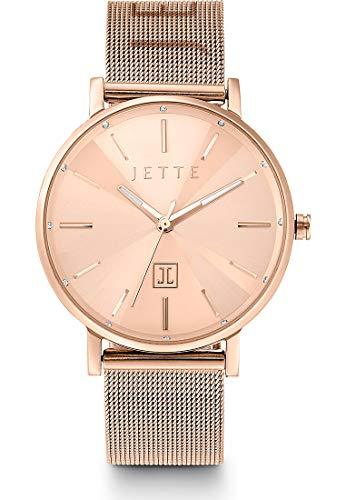 JETTE Damen-Uhren Analog Quarz One Size Roségold 32013684