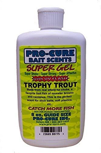 Pro-Cure Trophy Trout Super Gel, 8 Ounce