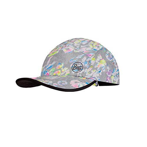 Buff 5 Panel Cap Gorra, Girls, Grey, One Size