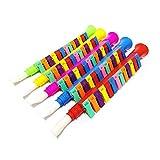 JujubeZAO Spielzeug für Kinder, 13 Schlüssel, bunte Melodica, Kunststoff, Klarinette, Musikinstrumente, Spielzeug, zufällige Farbe, tolles Geschenk für Kinder Random Color Zufällige Farbauswahl