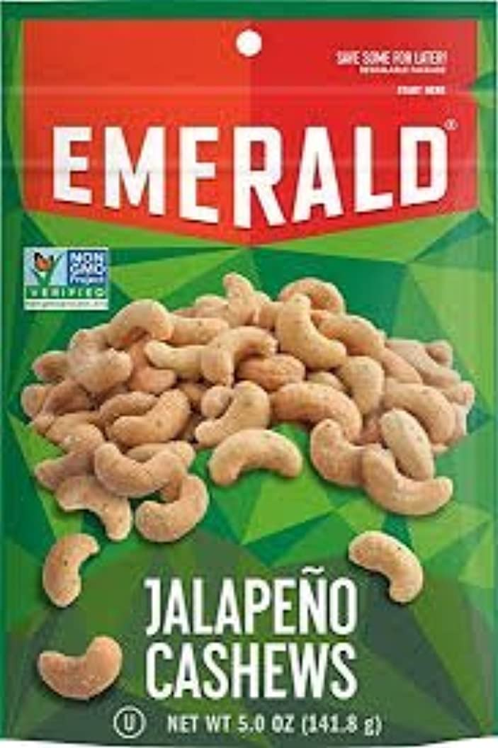 Emerald Jalapeno Cashews 5 oz ( 2 Pack) ocsfyruybqd17