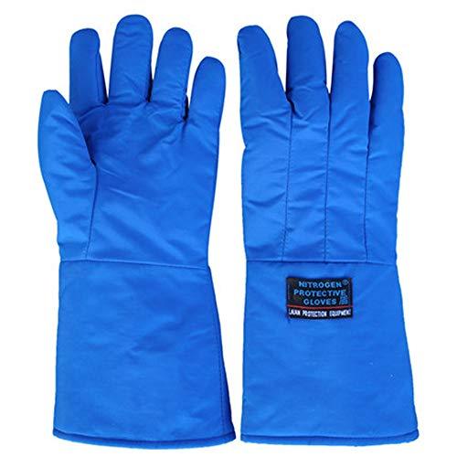 ZhuFengshop handschoenen lage temperatuur resistente vloeibare stikstof handschoenen antivries handschoenen koude opslag droog ijs koude warme handschoenen beschermende handschoenen, werk, boerderij