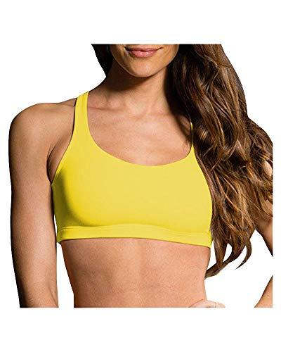 Onzie Hot Yoga Chic Bra 354 Banana (Banana, Small/Medium)