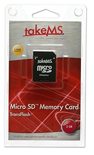 Take MS 88658 MicroSD 2GB geheugenkaart met adapter