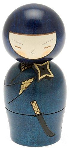 usaburo Japanische Kokeshi Puppe, Geheimnisvolle Ninja