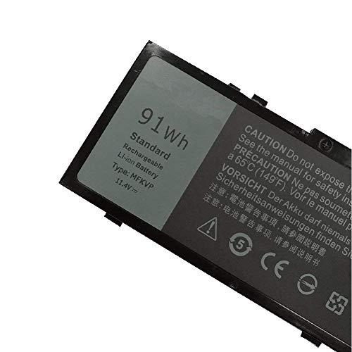 XITAIAN 11.4V 91Wh MFKVP GR5D3 0RDYCT Ersatz Laptop Akku für Dell Precision 7510 7710