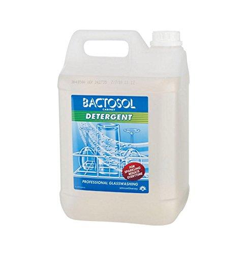 Bactosol Johnson Diversey Detergente para Lavado de Cristal, 5 litros, 2 Unidades