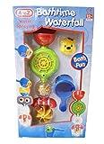 Katies Playpen - Baby Best Buys Lustiges Wasserspritzen Badeschiff Lenkrad Design Wasserfall Badespielzeug mit drehenden Rädern, Trichter und Schaufel - geeignet ab 12 Monaten