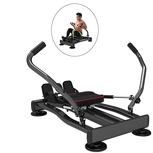 WYJW Rudergerät Fitnessgeräte Home Rudergerät kann Brustmuskeln und Muskeln trainieren