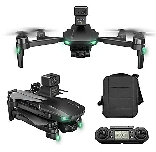 Droni GPS con Gimbal a 3 Assi, Drone GPS con Fotocamera UHD 6K per Adulti Quadricottero RC 360° Evitamento Ostacoli EIS Anti-Shake 5G FPV Live Video Motore brushless Distanza Telecomando 1200 m