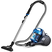 Eureka NEN110A Whirlwind Bagless Canister Vacuum Cleaner, Lightweight Corded Vacuum for Carpets and Hard Floors (Blue)