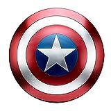 Scudo Di Capitan America, Avengers Marvel Prop Giocattolo Replica Serie Legends Supereroe Scudo 1: 1 Marvel Giocattolo Replica Bar Decorazione 47 Cm Puntelli Cosplay Scudo classic,47cm
