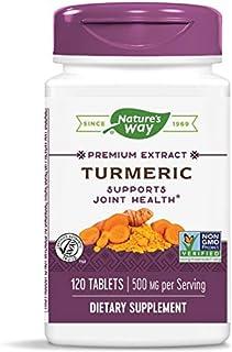 Nature's Way Turmeric Standardized Extract, 120 Tabs