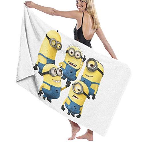 Des-picable Me - Toalla de playa de microfibra grande, toalla de playa, toalla de playa, súper absorbente, secado rápido, toalla de playa
