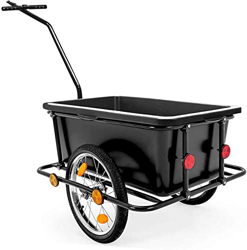 2 bicicletas redondas de almacenamiento Cochecito de almacenamiento Carro Carretilla Transporte Torre de tracción,Black