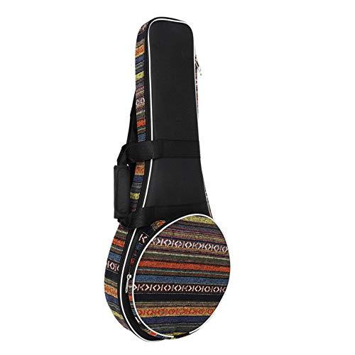 Mochila ao ar livre, Miaoqian A&F Style Mandolin Gig Bag Mochila elegante acolchoada com zíper com alça de transporte e alça de ombro